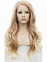 IMSTYLE 26 Mixed Blonde Wave Synthetic Lace Front Wigs
