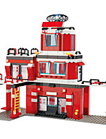 Building Blocks For Gift  Building Blocks Model & Building Toy Car / House Plastic Above 6 Red / White Toys