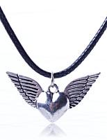 Latest Fashion Leather Cord Pendant Necklace