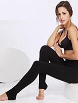 BONAS® Женский Однотонные Толстые Legging-S8158