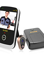 KiVOS KDB307A Wireless Camera Home Electronic Eye 0.3MP/170 Degree Wide-Angle Visual Doorbell