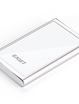 EAGET G90 1T Portable & Stylish Hard Disk HDD ((Silver))