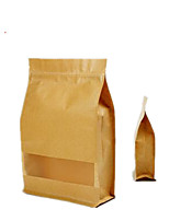 Six 20Cm * 30 Cm 8 Kraft Ziplock Bags Per Pack