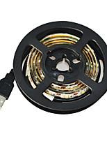 Jiawen USB 60-SMD3528 холодный белый 1m водить водонепроницаемую полосу света - белый