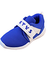 Girl's Flats Summer Comfort / Round Toe PU Casual Flat Heel Others / Hook & Loop Black / Blue / Red / White