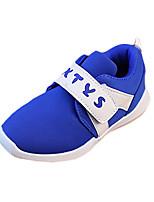 Черный Синий Красный Белый-Для девочек-Повседневный-Полиуретан-На плоской подошве-Удобная обувь-На плокой подошве