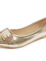 Women's Flats Spring / Summer / Fall Comfort / Ballerina Leatherette Outdoor / Casual Flat Heel Buckle