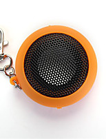 DK-601 Mini Portable Capsule Speaker Rechargeable for MP3 Mobile Phone Orange