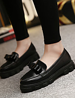 Women's Flats Summer Creepers PU Casual Platform Others Black / Beige Others