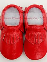 Черный / Зеленый / Фиолетовый / Красный-Для мальчиков-На каждый день-Кожа-На плоской подошве-Удобная обувь-Мокасины и Свитер