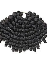 3piece Bouncy Curl Twist Braids Hair Extensions 12inch Kanekalon 20 Strand Hair Braids