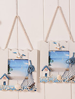 1PC Mediterranean Europea-Style Cozy Holiday Gift Family Random Color Bureaux Counter Decorations Hanging  Photo Frame