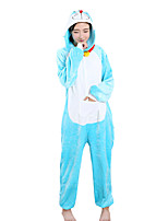 Kigurumi Pajamas  Leotard Onesie Halloween Animal Sleepwear Polar Fleece Kigurumi Unisex Halloween Character