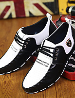Men's Sneakers Spring / Fall / Winter Comfort Casual Flat Heel Lace-up Black / Black and White Others