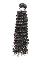 16Inch Deep Wave Hair Remy Human Hair  Weaves Virgin Unprocessed Hair
