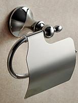 Porte Papier Toilette / Miroir Poli / Fixation Murale /5.5*3.5*7.1 inch /Laiton /Contemporain /14cm 8.5cm 0.45
