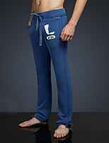 LOVEBANANA® Masculino Activo Calças Azul-34087