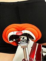 Cycling Padded Shorts Chamois Unisex Breathable  Anti-skidding  Reduces Chafing  Comfortable Elastane  Polyamide Classic
