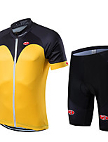 Sports Bike/Cycling Jersey  Bib Shorts / Clothing Sets/Suits Men's / Unisex Short Sleeve Breathable / Quick Dry LYCRA /