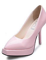 Women's Heels Spring / Fall / Winter Heels Leatherette Dress Platform Others Pink / Beige Others