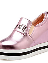 Women's Heels Fall / Winter Heels PU Wedge Heel Others Pink / Silver / Gold Others