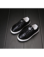 Unisex Flats Spring / Fall Flats Rubber Outdoor Flat Heel Others Black / White Sneaker