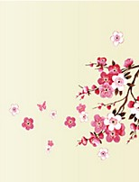 Sakura Flower Bedroom Vinyl Decal Art Decor Wall Sticker 45*60CM (Small-45*60CM) Pink, 45cm