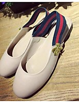 Women's Sandals Summer Sandals Leather Outdoor Flat Heel Others Black / Red / White Others