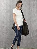 rizhuo Frauen feste Blue Jeans pantssimple Frühling / Herbst