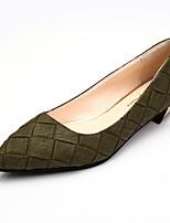 Зеленый Розовый Серый-Женский-Повседневный-Полиуретан-На плоской подошве-Удобная обувь-На плокой подошве