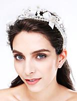 Femme Tulle / Imitation de perle / Acrylique Casque-Mariage / Occasion spéciale Serre-tête 1 Pièce