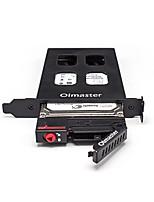 oimaster кейс жесткий диск коробка ЧКВ одной тарелки / плита встроенный ящик на жестком диске случайный цвет