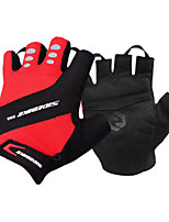 Activity/ Sports Gloves Cycling/Bike Unisex Fingerless Gloves  Summer Red / BlackS / M