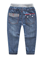 Boy's Party/Cocktail Solid PantsAcrylic Spring / Fall Blue