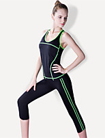 Women's Yoga Tracksuit Breathable Quick Dry Compression Comfortable High Elasticity Sports Wear Suits