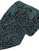 Fashion Polyester Silk Casual Men Necktie Tie Wedding Party