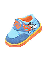 Girl's Sneakers Spring / Fall Comfort PU Casual Flat Heel Magic Tape Blue / Pink Others
