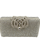 Women PU Formal / Event/Party / Wedding Evening Bag/Purse/Shimmering Diamonds Hand Bag/Rhinestones/Crown/Clutch