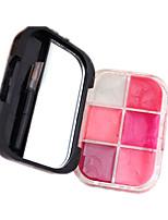 Gloss Labial Molhado Creme Gloss Colorido / Longa Duração Multi Cores 1 other