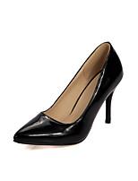 Damen-High Heels-Hochzeit / Outddor / Büro / Kleid / Lässig / Party & Festivität-Leder / Baumwolle / Leinen / Denim Jeans / Wolle /