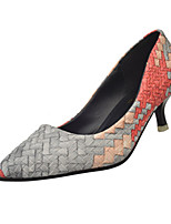 Women's Heels Fall Heels Synthetic Casual Stiletto Heel Others Pink / Red / Gray Others