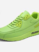 Черный Зеленый Красный Белый-Унисекс-Повседневный-Полиуретан-На плоской подошве-Удобная обувь-Кеды