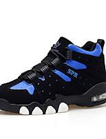 Черный Синий Белый Тёмно-синий-Мужской-Повседневный-Ткань-На плоской подошве-Удобная обувь-Кеды