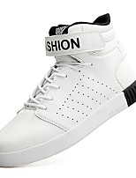Men's Sneakers Spring / Summer / Fall / Winter Comfort Leather Outdoor / Athletic / Casual Black / Red / WhiteWalking /