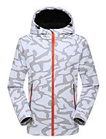Hiking Softshell Jacket UnisexWaterproof / Breathable / Thermal / Warm / Quick Dry / Windproof / Wearable /