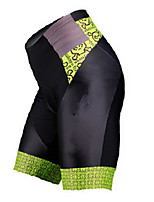 Sports Cycling Padded Shorts Men's Breathable / Quick Dry / Comfortable / Sunscreen Bike Shorts Terylene ClassicExercise & Fitness /