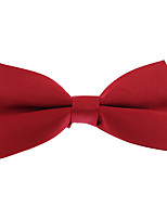 Для мужчин Винтаж / Для вечеринки / Для офиса / На каждый день Бабочка,Полиэстер Жаккард,Черный Все сезоны