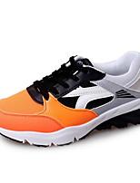 Da donna-Sneakers-Tempo libero / Casual / Sportivo-Comoda-Plateau-Finta pelle-Nero / Blu / Arancione