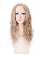 Blonde Color Afro Women Synthetic Wigs Fashion Cosplay Wigs
