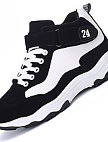 Men's Athletic Shoes Spring / Fall Comfort PU / Tulle Outdoor / Athletic / Casual Black / Black and White / TanWalking /